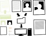 Digital Information Graphic
