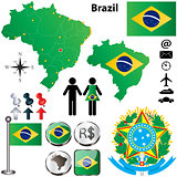 Brazil map