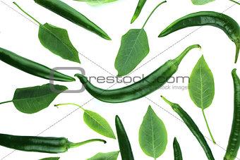 Green hot chili