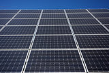 Solar panel background
