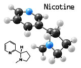 nicotine molecule