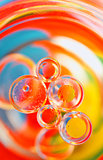 Oil bubbles