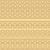 vector seamless pattern with triangles