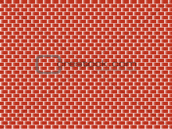Abstract red brick background