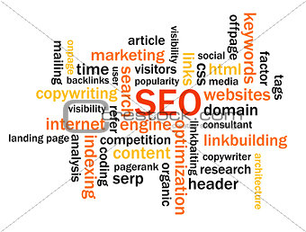 Abstract SEO image