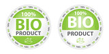 Bio product label in two versions