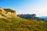 mountains of  National Park Montenegro