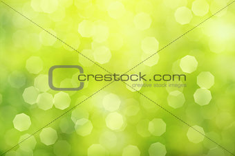 off focus green abstract background