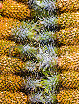 pineapple pile