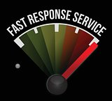 fast response service speedometer