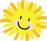 Sun Child Drawing