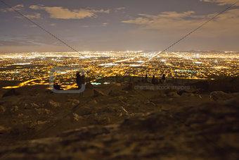 Nighttime City View
