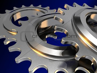 Chain gears