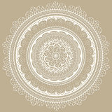 Vector Vintage Lacy Napkin