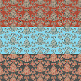 Vector Seamless Oriental Wallpaper Pattern