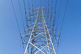 symmetric high voltage power tower 