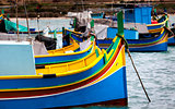 Harbour of Marsaxlokk, Malta