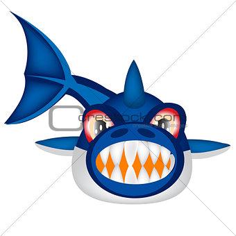 Ravenous fish