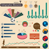 Infographics. Sport