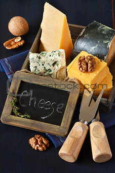 Cheese composition.