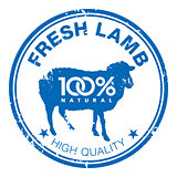 Lamb stamp