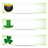 St. patrick&#39;s day banners