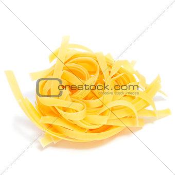 uncooked tagliatelle