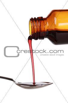 Liquid cold medicine