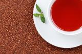 Rooibos Tea with lemon balm