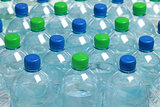 Water in bottles