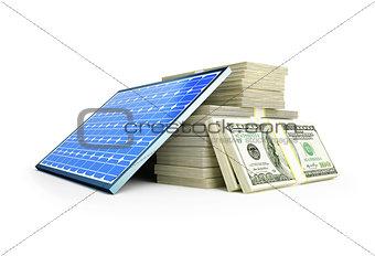 solar panel dollar