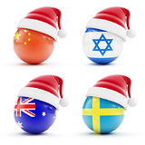 Christmas in Israel, China ,sweden,Australia
