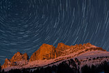Rosengarten and startrails
