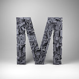 Letter M