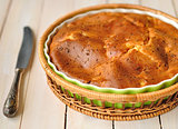 A Pie Sprincked with Cumin Seeds