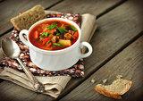Russian Style Soup - Rassolnik