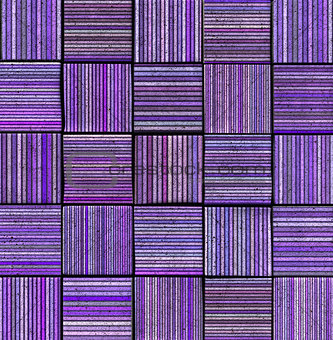 3d abstract striped tile backdrop in purple lavender