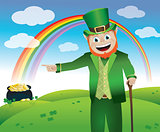 Saint Patrick&#39;s Day Leprechaun