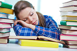 Tired to study