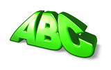 letters abc