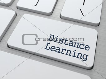 Distance Learning Button.