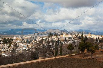 Granada in February
