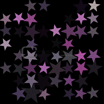 stars on the night sky