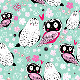 texture love owls