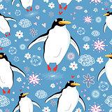texture love penguins