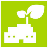 Nature industry symbol illustration