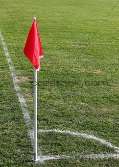 soccer corner flag