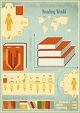 Book Infographics Elements