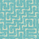 vector seamless abstract pattern in hi-tech style.