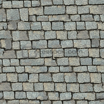 Stone Block Seamless Texture.